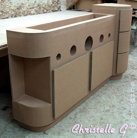 meuble chaussures pour pi ce d 39 entr e mobilier en carton. Black Bedroom Furniture Sets. Home Design Ideas