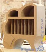 Le bahut en carton pour ranger documents et revues - Meuble range documents ...