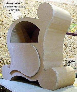 Exp rience de loisirs cr ation en carton avec une bonne for Annabelle meuble