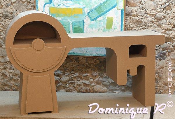 Favorit Le bureau classique, design ou baroque en carton. LB66