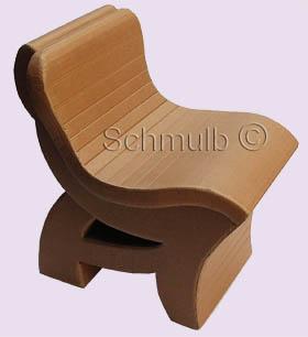 Chaise En Carton Ralise Avec La Mthode Schmulb