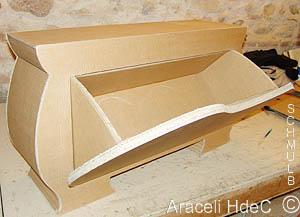 Meuble chaussures pour pi ce d 39 entr e mobilier en carton - Fabriquer meuble a chaussure ...