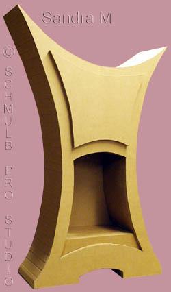 Elles ont dessin et fabriqu un meuble carton de loisirs - Meuble en carton design ...