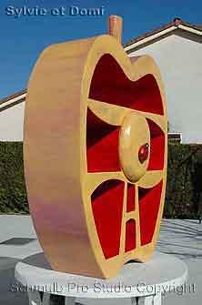 Pomme en carton. Mobilier et loisirs creatifs