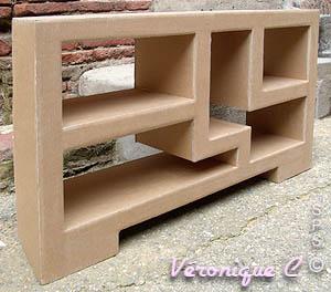 formation professionnelle les meubles en carton de v ronique. Black Bedroom Furniture Sets. Home Design Ideas