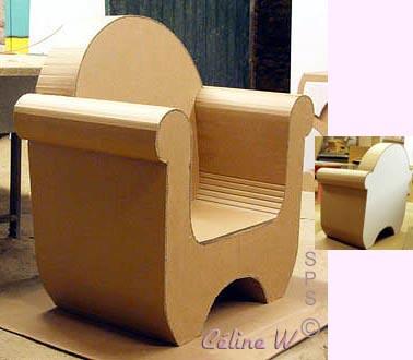 Fabriquer Un Fauteuil 19 Modèles De Fauteuils En Carton