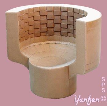 tr ne en carton et autres styles du fauteuil cabriolet. Black Bedroom Furniture Sets. Home Design Ideas