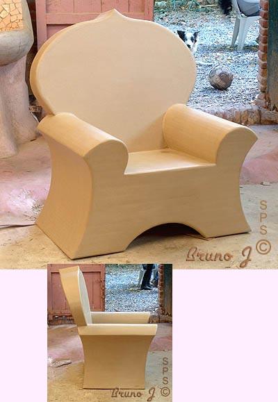 Bien connu Fabriquer un fauteuil : 19 modèles de fauteuils en carton. FR34