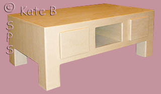 La formation artisan pro meuble en carton durable de kathleen - Table basse rectangle ...